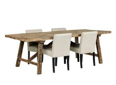 Granville Dining Table – Meyer and Marsh £922 #meyerandmarsh #diningtable #boattable #rustictable #reclaimedtable #shabbychictable
