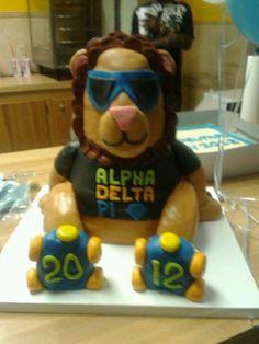 Bid day cake. Alpha Delta Pi  Eta Zeta chapter-Southern Miss