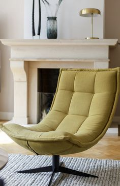 De Bongerd - What could be better than coming home after a busy day of work and plopping into such a lovely rela - Wing Chair, Sofa Chair, Armchair, Log Cabin Furniture, Dining Room Furniture, Chez Lounge, Chair Design, Furniture Design, Japanese Interior Design
