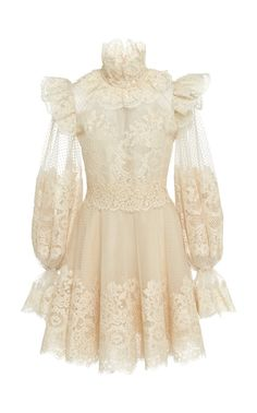 Ruffled Flocked Tulle Mini Dress by ZIMMERMANN Now Available on Moda Operandi Source by goldbarz dress outfits Pretty Dresses, Beautiful Dresses, Ny Dress, Cristian Dior, Mode Kpop, Chiffon Gown, Women's Fashion Dresses, Dress Outfits, Classy Outfits