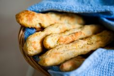 Cheesy Vegan Breadsticks! It's all you need in life, really.