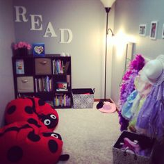 Girls new play corner.