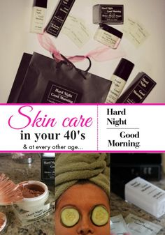 Skin care in your 40s (or at any age) Hard Night Good Morning skin care review