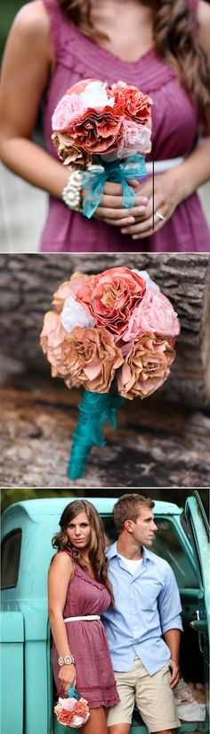 10 gorgeous #DIY wedding bouquets  #WeddingBouquet #WeddingBouquets