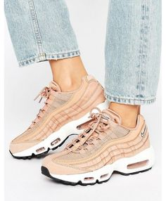 2a66b360eb Nike Air Max 95 Essential Tan Shoes, Classic style, very easy to match!