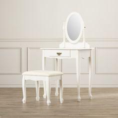 Found it at Wayfair - Ogden Vanity Set with Mirror