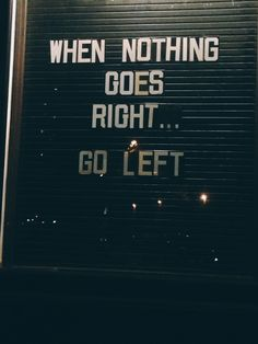 Nothing Goes Right ♡