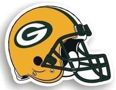 "Green Bay Packers 12"""" Helmet Car Magnet"