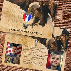 eagle scout court of honor invitation Boy Scouts of by CeceliaJane, $20.00