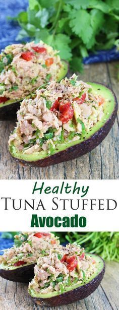 Full of southwestern flavors with tuna, red bell pepper, jalapeno, cilantro, and lime, this is an awesome, tasty, low carb lunch idea!