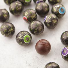Eye spy with my little eye.. some Zombie eyeballs chocolate I'm about to eat!