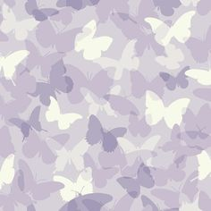 """Brothers and Sisters V Butterfly Camo 33' x 20.5"""" Bugs / Insects Roll Wallpaper"""