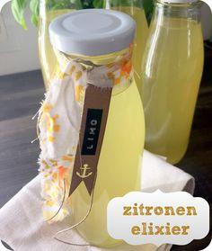 kleine fluchten: Zitronenlimo aus dem Garten. Annähernd.