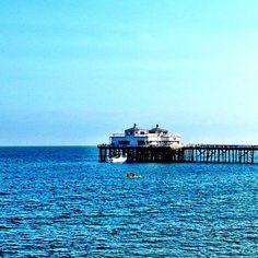 So blue! #MalibuBeachInn #CarbonBeach #beach #ocean #view #waves #MalibuPier