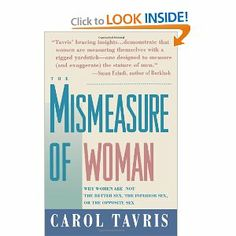 "The Mismeasure of Woman- when ""man is the measure of all things"" woman is forever trying to measure up"
