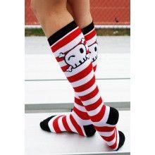 Pirates Knee High Socks