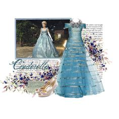 once upon a time: Cinderella, created by elizabethbe on Polyvore