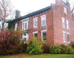 PARMLY MANSION, 2814 Perry Park Road, Lake County, Perry, OH. Built in 1826 - The lakeside home, built by Jahial Parmly, had been purchased by the township, and the surrounding land used for a public park and community center.
