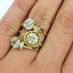Three insanely gorgeous engagement rings by Single Stone