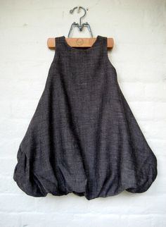 bubble dress.  in grey!