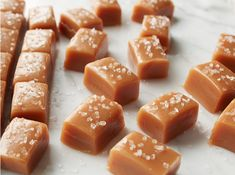 Dessert Recipe - A brilliant and easy salted caramel recipe made with Diamond Crystal® Salt! This recipe is perfect for the upcoming holiday season! Caramel Recipes, Candy Recipes, Holiday Recipes, Dessert Recipes, Holiday Baking, Christmas Baking, Delicious Desserts, Yummy Food, Tasty