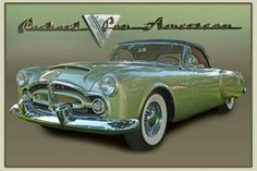 1952 Packard Pan American Convertible, Motos Vintage, Cool Old Cars, Vintage Cars, Vintage Auto, Us Cars, Future Car, Motor Car, Concept Cars