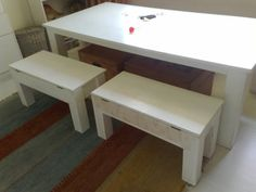 Kids table and bench set http://www.woodworker.co.za/listing/kids-table-and-chairs/