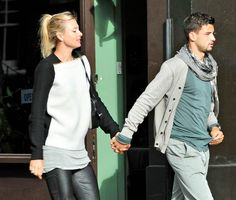 Maria Sharapova and Grigor Dimitrov out together in London