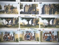 Dick Purdum's early #storyboard work for Disney's animated Beauty and the Beast film - on Hans Bacher's blog #concept art