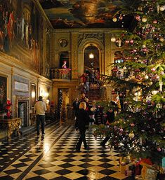 Chatsworth House,Christmas 2012 | by kev747
