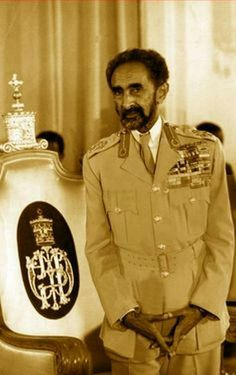 King of Ethiopia, Haile Selassie-I, Africa's Last Emperor Haile Selassie, Rastafari Art, Rastafarian Culture, Black Royalty, Tribal Warrior, African Royalty, Warrior King, Lion Of Judah, African Diaspora