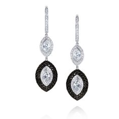 Black Diamonds and White Diamonds Gold Book, White Gold, Black And White, Black Diamonds, Earring Set, Jewelry, Jewlery, Black N White, Jewerly
