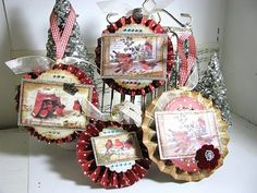Crafty Secrets Vintage Paper Crafts, stamping Ideas: New projects from our Design Team and Guest Designer for December Lisa Zappa