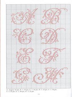 Gallery.ru / Фото #4 - belles lettres au point de croix - moimeme1