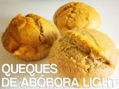 Receitas de Dieta: Queques de Abóbora Light