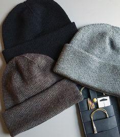 Knit Beanie Pattern, Knit Picks, Knitted Hats, Knitting Patterns, Accessories, Fashion, Creative, Breien, Moda