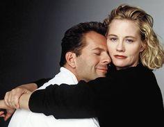 Cybill Shepherd & Bruce Willis in Moonlighting (Thx Robin)