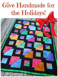 Quilt pattern or Kit available for Holiday giving!  If you have a quilter that you are buying for, this is the perfect gift!
