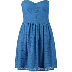 New Look DAISY Summer dress (44 BRL) ❤ liked on Polyvore featuring dresses, vestidos, short dresses, robe, blue, cotton summer dresses, blue dress, blue cocktail dresses, cocktail party dress and short sleeve dress