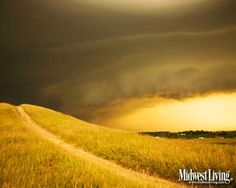 A storm rolls in to Spirit Mound. More of our favorite South Dakota photos: http://www.midwestliving.com/travel/south-dakota/decorate-your-desktop-with-our-south-dakota-photos/page/1/0# @South Dakota