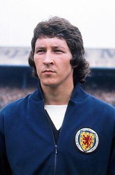 Derek Parlane Scotland 1975