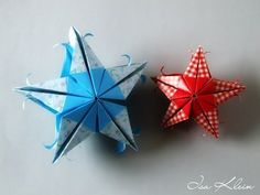 "Christmas Origami Instructions: Star ""Stella Pitti"" (Francesco Mancini) - YouTube"