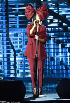 Shady lady: A reluctant star, Sia previously said she found fame 'ugly' and that it made her feel 'hunted'
