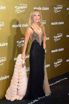 Carmen Lomana en los premios de la #moda de Marie Claire