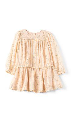 c3e3cd931a Kids Couture Silk Gold Splatter Dress Chloe Kids