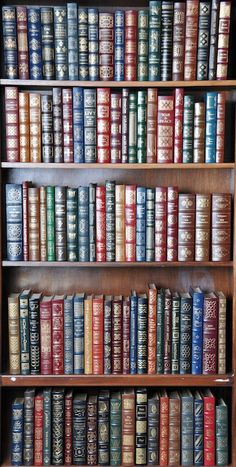 '100 Greatest Books of All Time' by The Easton Press