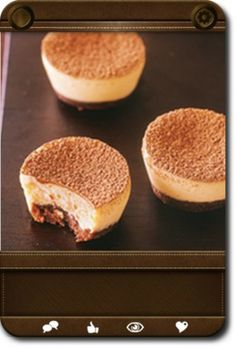 mini baileys cheesecake