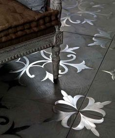 i Vassalletti Flooring Boiserie Marquetry Panels Wall Wood Tuscany Italian Les Ateliers Courbet