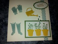 Stampin up Gift from the Garden