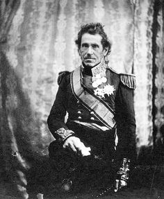Lieutenant General Sir De Lacy Evans, G. who was a part of numerous battles including the War of 1812 in the U., the battle of Waterloo in Belgium, and the Crimean War. European History, British History, World History, Etat Major, Crimean War, Lieutenant General, Battle Of Waterloo, Age Of Empires, Man Of War